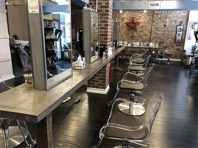 The Salon floor at David Ryan Salon.