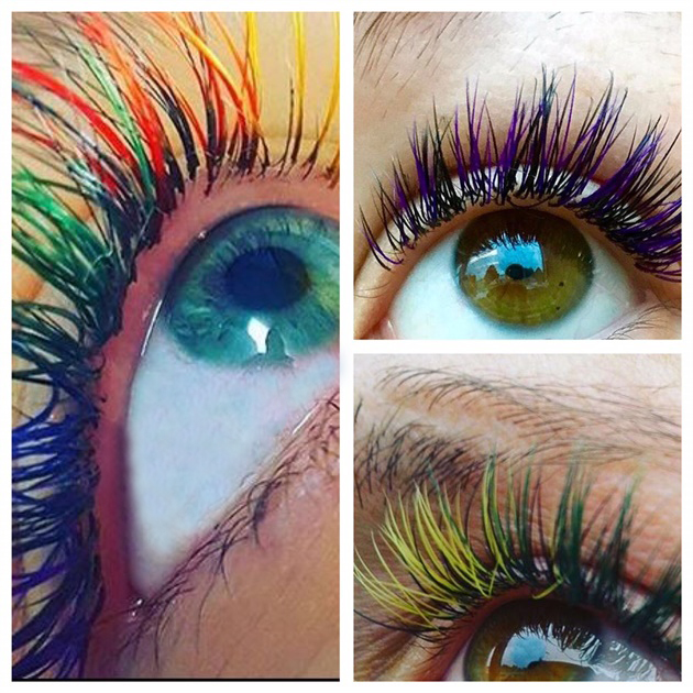 Move Aside Mermaid Hair, Rainbow Eyes are Officially Trending!