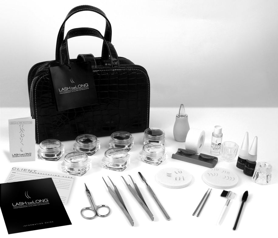 Lash beLong Kit from AII. Designed with the professional stylist in mind, this extension kit provides the tools needed to expand and build your lash extensions business.