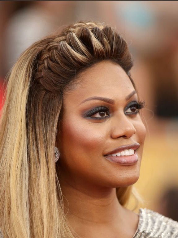 How-To: Laverne Cox's Braided Crown at the SAG Awards