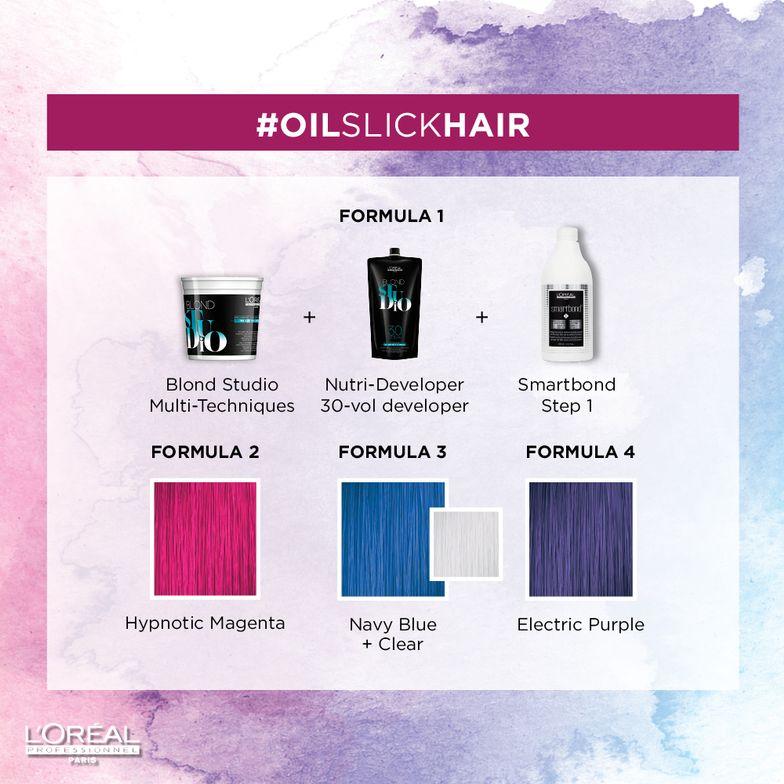 <p>#OILSLICKHAIR color formula</p>