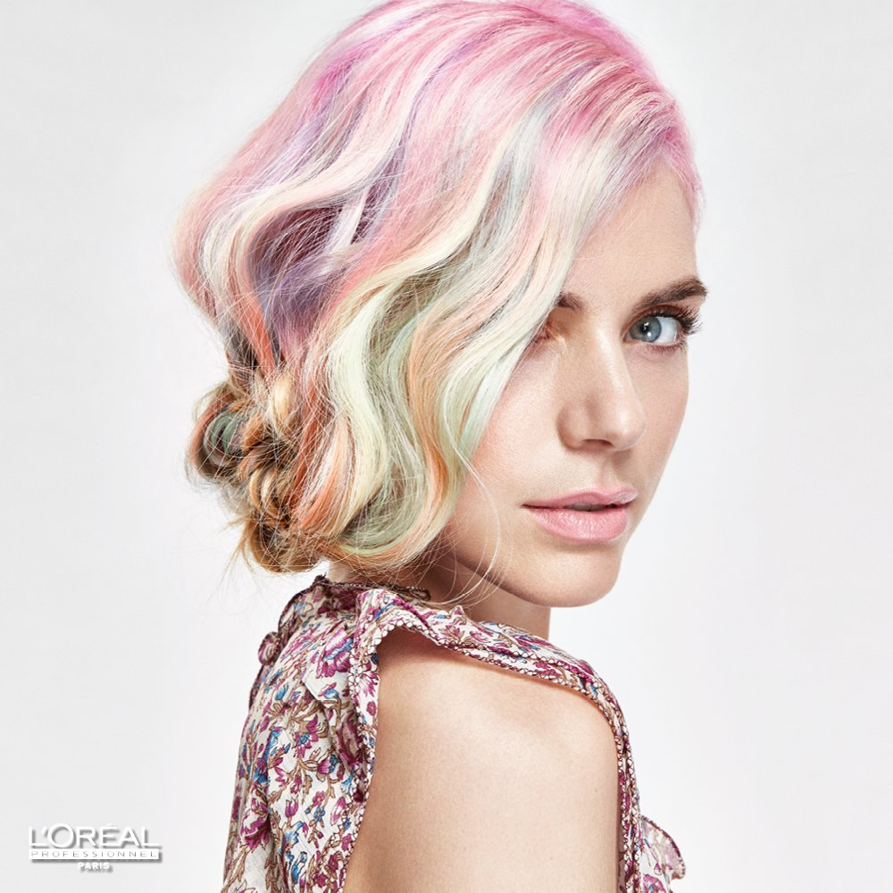 HOW-TO: Multicolored #CANDYHAIR by L'Oreal Professionnel