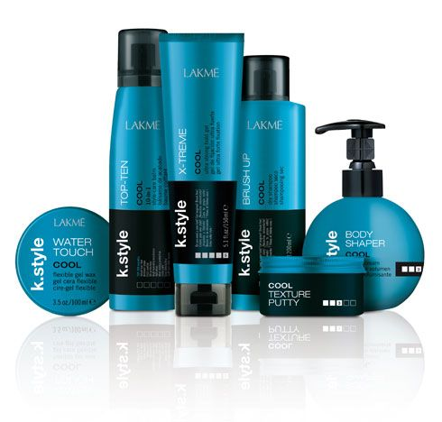 Lakme Presents New K.Style Cool Line of Styling Products