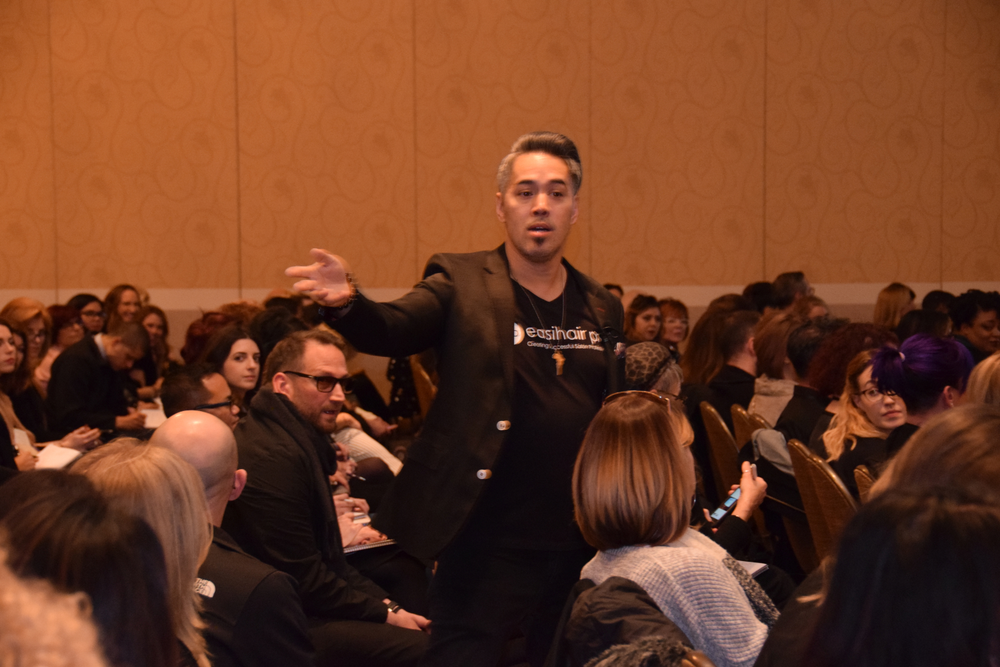 Easihair Pro's Lance Courtney helps salons tap into the power sitting at their front desks.