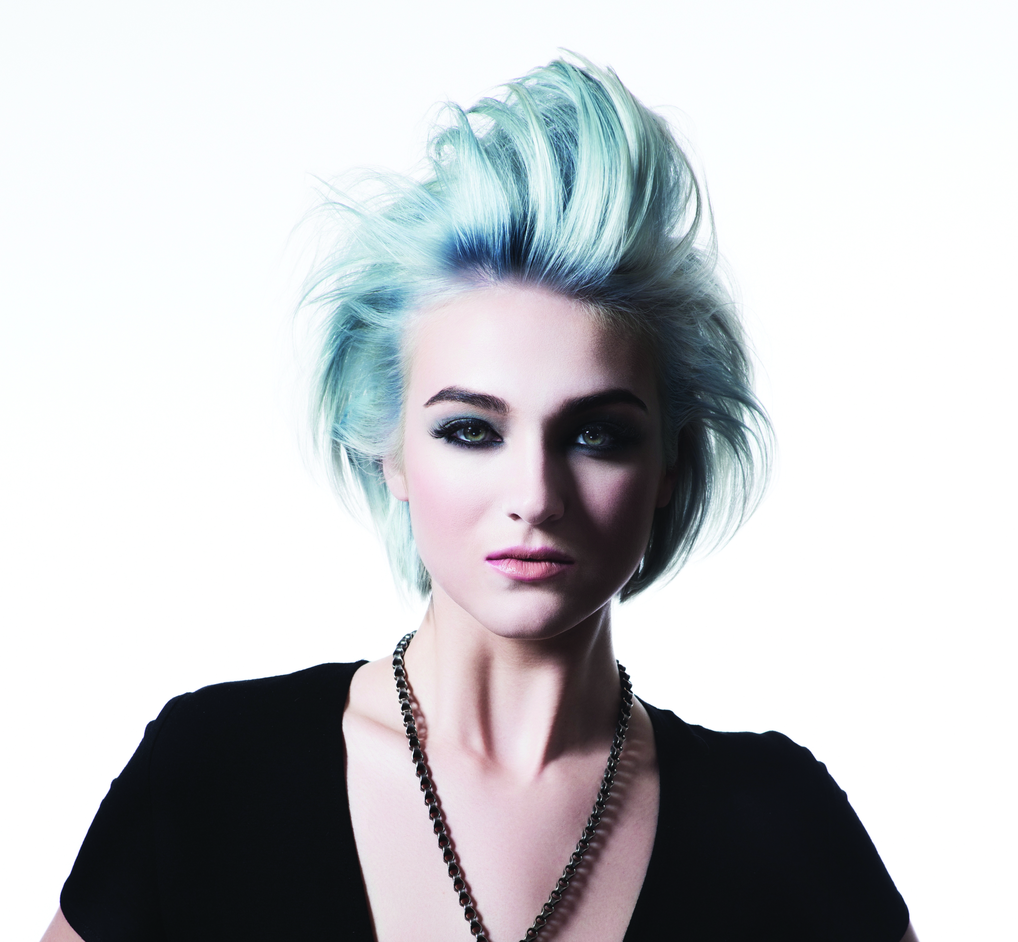 Pomp and circumstance look by L'anza.
