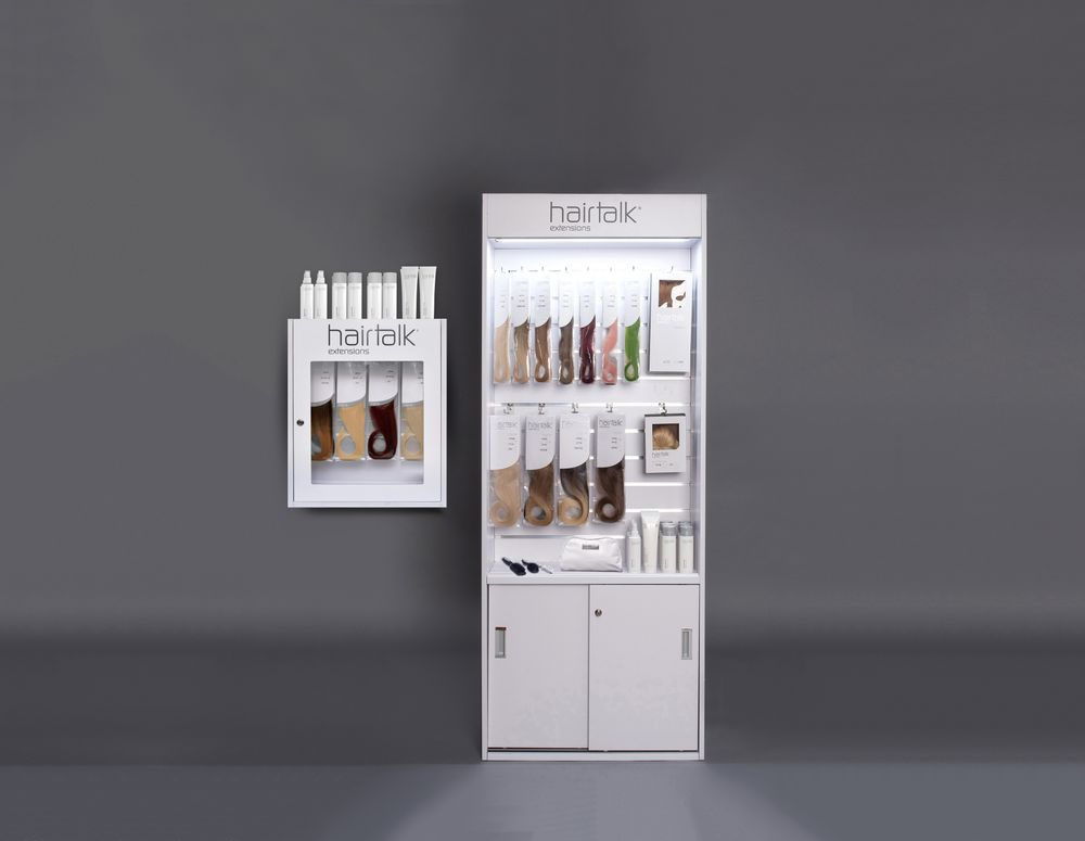 <strong>Hairtalk's Countertop/Wall Mount Extension Stocking Cabinet</strong>