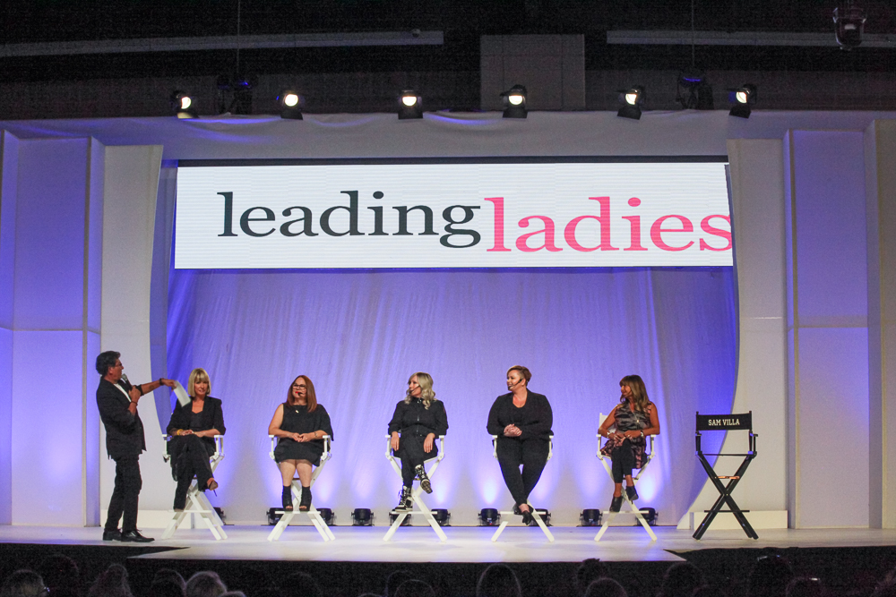 The Leading Ladies earned a standing room only crowd at Premiere Philadelphia.