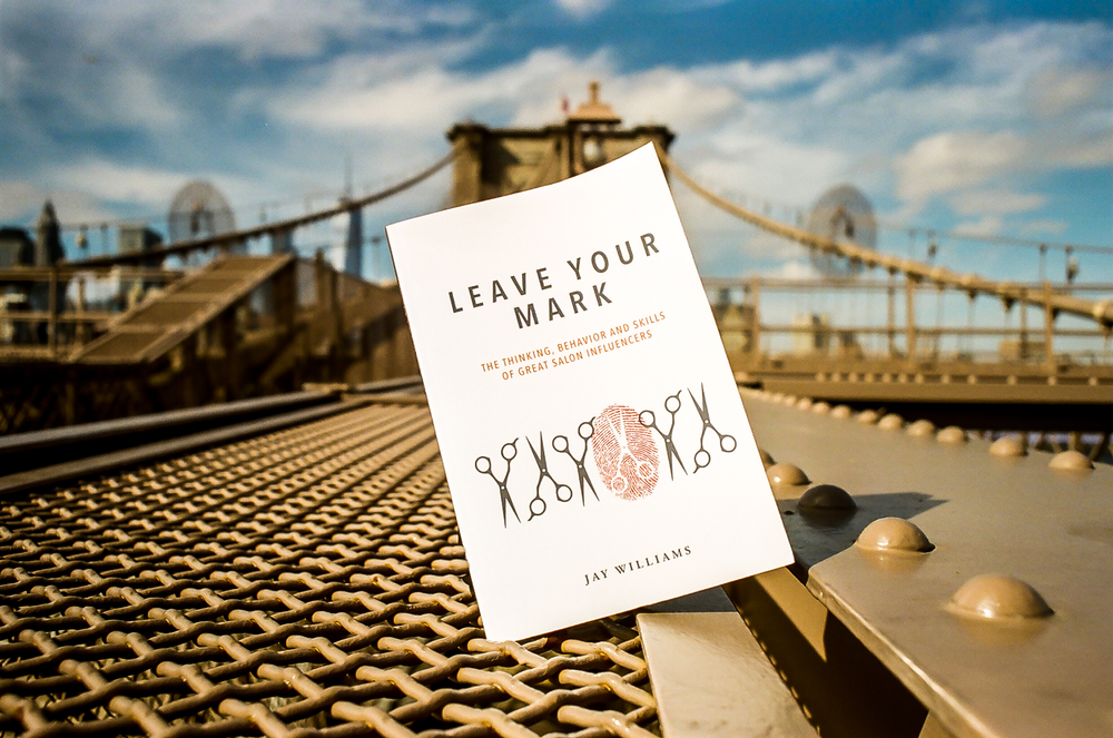 """<em>Leave Your Mark</em> by Jay Williams. Book design by <a href=""""http://www.christyleedesign.com"""">Christy Lee Nelson</a>, photo by <a href=""""http://www.stephenlanecollection.com"""">Stephen Lane</a>."""