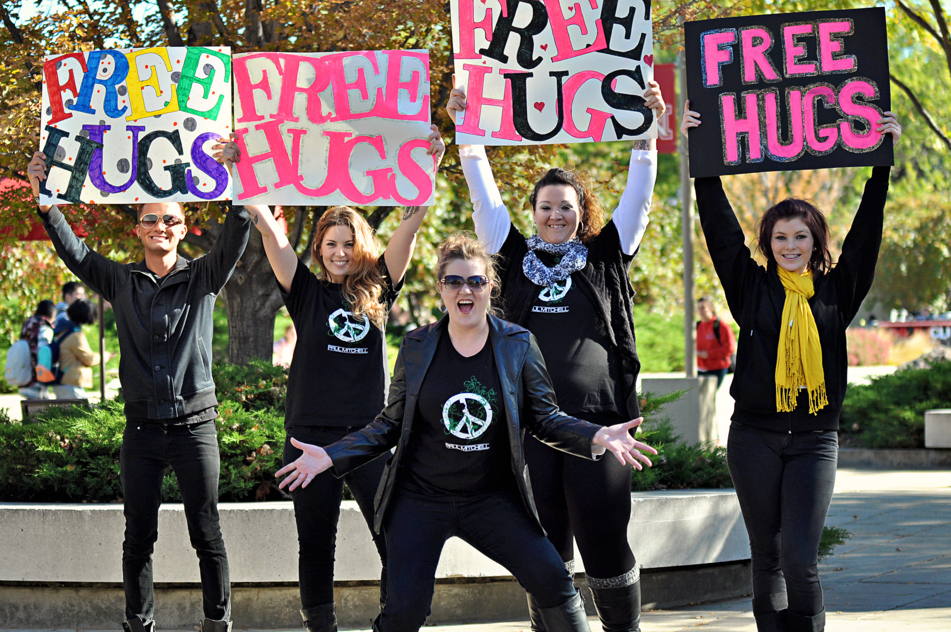 Paul Mitchell Schools Announce 7th Annual Free Hugs Day