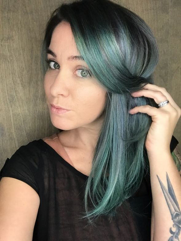 "<strong>Alicia ""Lish Mac"" McLaughlin</strong> (@thehairstylish) sprinkles her bubbly personality on her page of vibrant color creations."