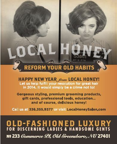 STAMP 2014: Local Honey Print Ad