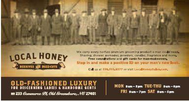 STAMP 2014: Local Honey Print Ad