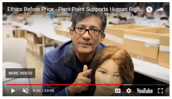 """Sam Villa on Pivot Point's """"Look for the Tag"""" video."""