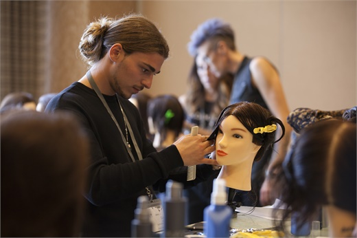 At Global Connection there are many opportunities to get your hands in hair.