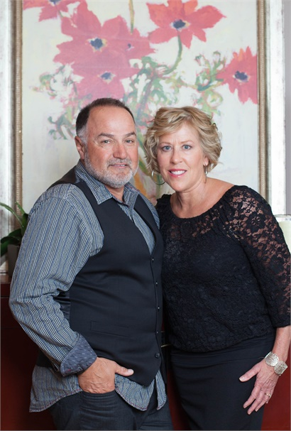 Pete and Sheri Polignone, owners of Ritual Salon-Spa in Midlothian, Virginia.