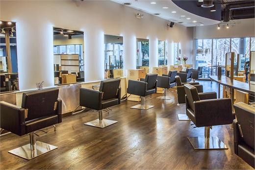 A look into Aria Salon Spa Shoppe in Alpharetta, Georgia.