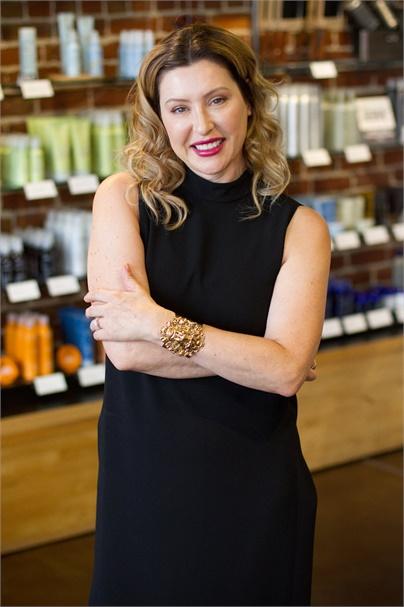 Charlene Stratton, co-owner of Artbeat Salon & Gallery in Berkeley, CA.