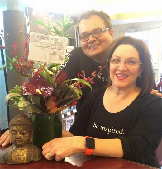 Rob Willis and Karie Bennett, owners of Atelier Salon Willow Glen, in San Jose, California.
