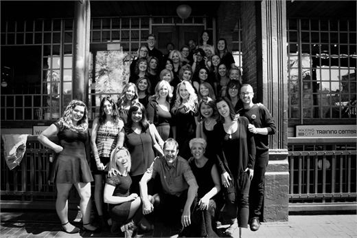The team from the Aveda Academy Denver in Denver, CO.