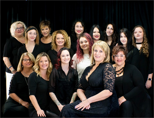 The team from Avenue Hair Design in Venice, Florida.