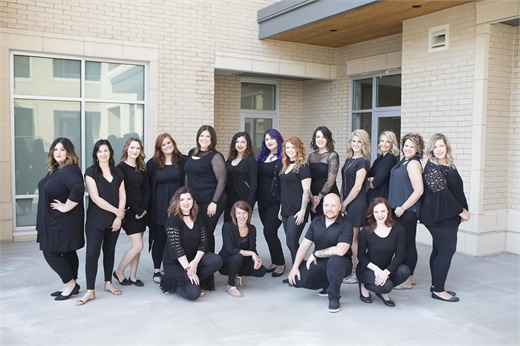 The team from Be Inspired Salon in Madison, Wisconsin.