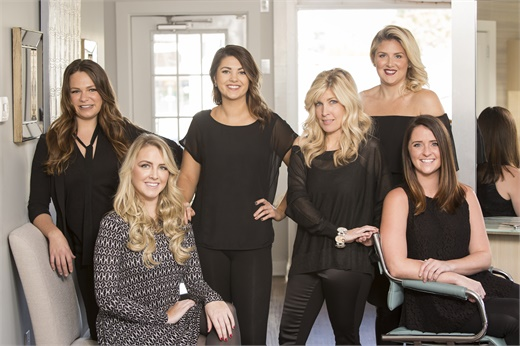 The team from Beehive the Salon in Duxbury, MA.