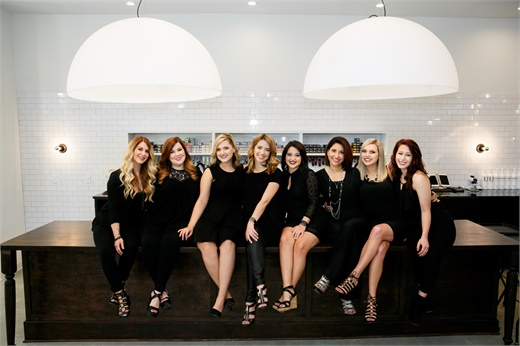 The team at Bella Style Salon in Slidell, LA.