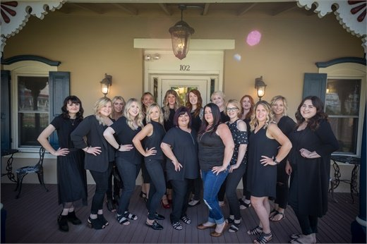 The team from Bella Salon and Spa in Chester Springs, Pennsylvania.