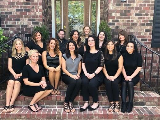 The team from Bellezza Salon in Charleston, South Carolina.
