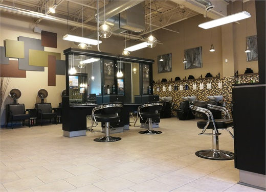 An inside look at Bii Natural Salon & Shop in Westside Dundee, Illinois.