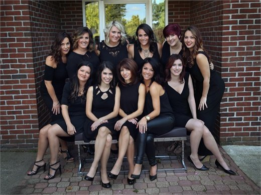 The team from Cappola-Brokaw Art of Hair in Cheshire, CT.