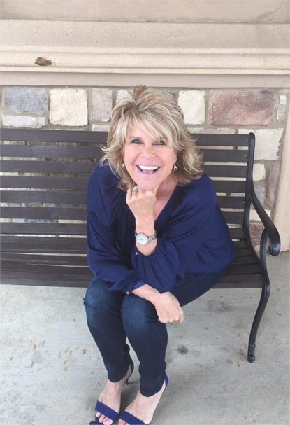 Kim Cloud, owner of Cloud 9 Salon and Spa in Flower Mound, Texas.