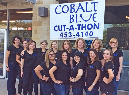 The team from Cobalt Blue Salon in Austin, TX.