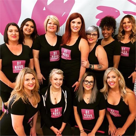 The team from Denovo in Pensacola, Florida.