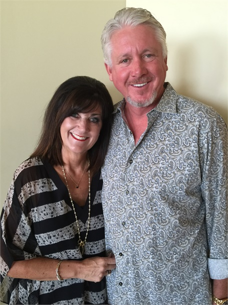 Lisa and Larry Walt, owners of Design I Salon Spa in Grand Rapids, MI.