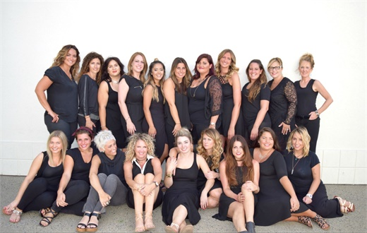 The team from Elan Hair Stuido in Sea Girt, NJ.
