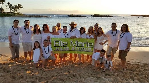 The team from elle Marie Hair Studio in Lynnwood, WA.