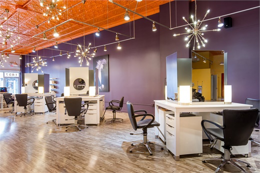 A look into Fringe A Salon in Chicago.