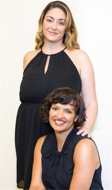 Owner Sharah Madrone and Manager Koki Wilson from Gervais Salon and Day Spa in Eugene, OR.