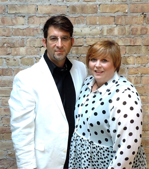 Tony and Pam Gordon, from Godon Salon in Highland Park, IL.