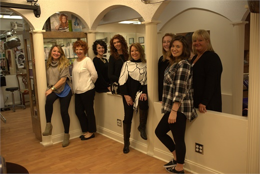 The team from Great Lengths Hair Salon, Inc., in Memphis, TN.