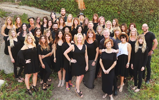 The team at Headlines The Salon in Encinitas, CA.