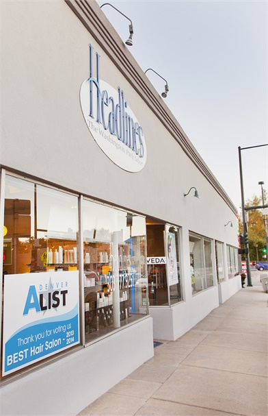 Headlines-The Washington Park Salon in Denver, CO.