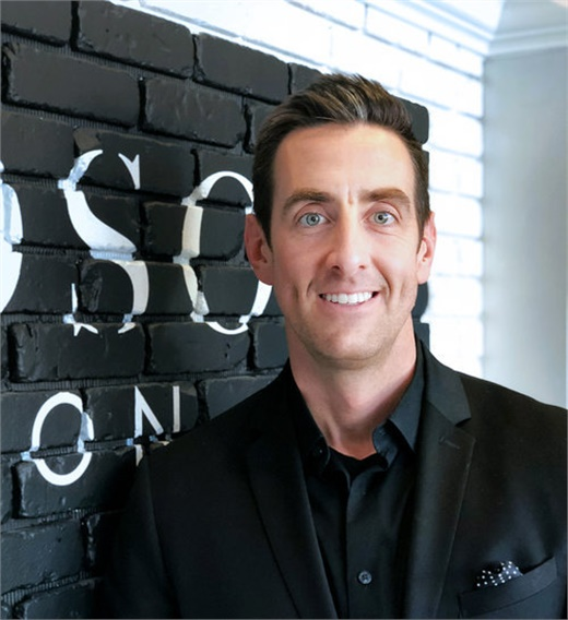 Hudson Styles, owner of Hudson Salon in Huntersville, North Carolina.