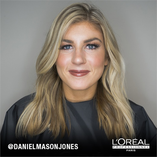 Before: This highlight client wants more light around her face.