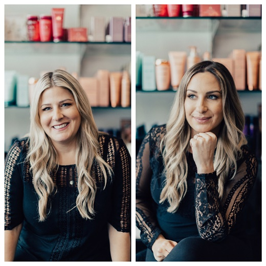 Heather and Monica Lai, owners of Prive Salon and Style Bar in Newtown Square, Pennsylvania.