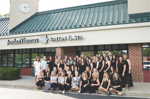 The team from Jordan Thomas Salon and Spa in Bel Air, MD.