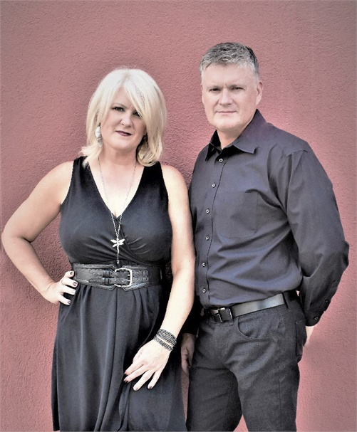 Kathy and Chase Thalman, owners of K Charles Salons in San Antonio, Texas.