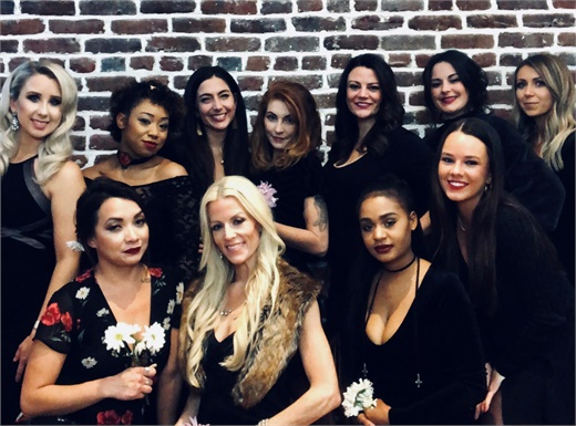 The team from The Lordis Loft Salon and Day Spa in Charleston, South Carolina.