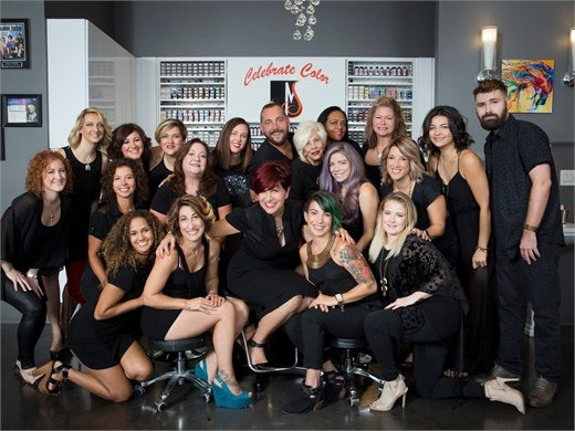 The team from Maggie the Salon in Pembroke Pines, FL.